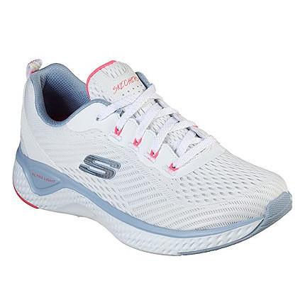 Skechers 149051 blanco - Zapatillas de tela para mujer muy cómodas