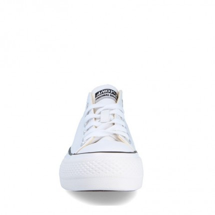 Andy-Z modelo AW0156 en negro, suela blanco y lona blanco