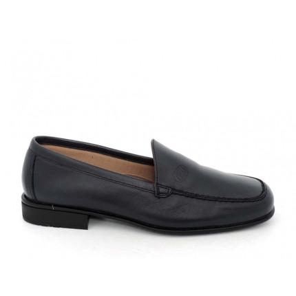 Baerchi 3581 - Zapatos de hombre de suela fina en piel negra