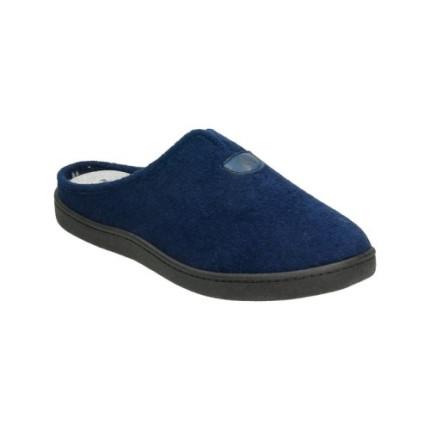 Zapatillas de toalla de puntera cerrada con plantilla extragruesa, super cómoda