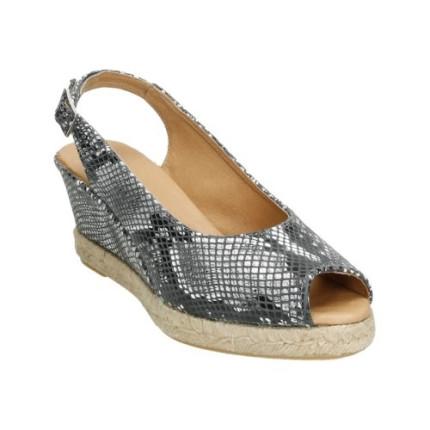 Alpargatas tipo sandalia con forro de piel