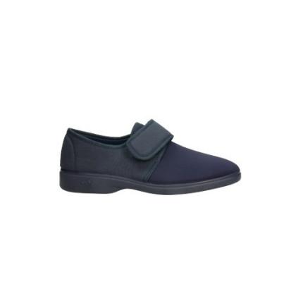 Zapatillas de calle con velcro, material de licra elástica