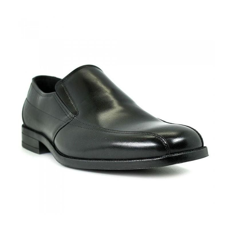 Baerchi 2632 negro - Zapatos sin cordones en piel