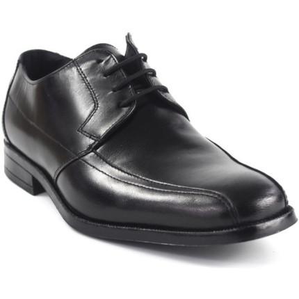 Baerchi 2631 negro - Zapatos con cordones en piel