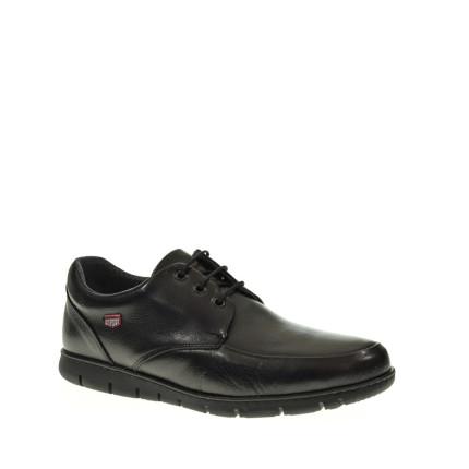 On Foot 8901 - Zapatos de cordones de piel superflexibles con plantilla extraíble