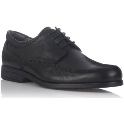 Fluchos 8903 - Zapatos de cordones de piel negro , Fluchos profesionales, con plantilla extraíble y suela antideslizantes