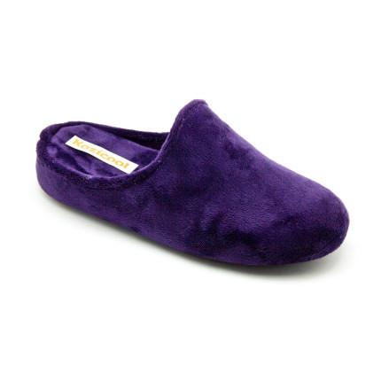 Zapatillas de estar en casa de color morado, muy suave