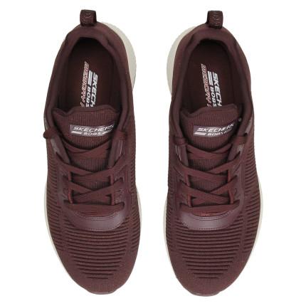 Skechers 32502 granate - Zapatillas de cordones de tela