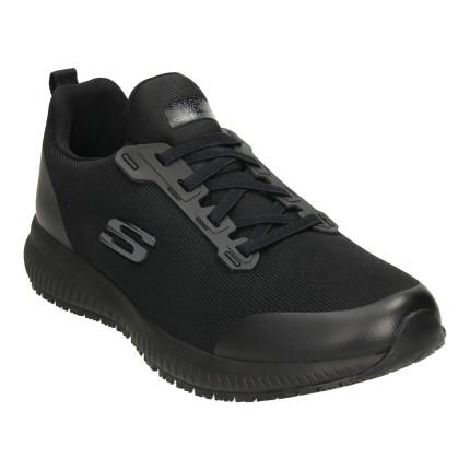 Skechers 77222 negro - Zapatillas de cordones para mujer