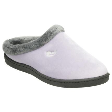 Zapatillas de casa para mujer con plantilla ultraligera pluma flex de color LILA