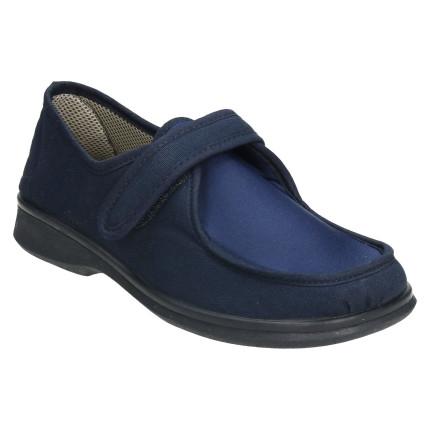 Zapatillas planas de velcro...