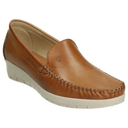 Zapatos de piel para mujer...