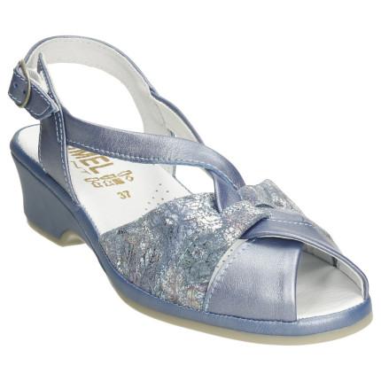 Lumel 1487 azul - Sandalias...